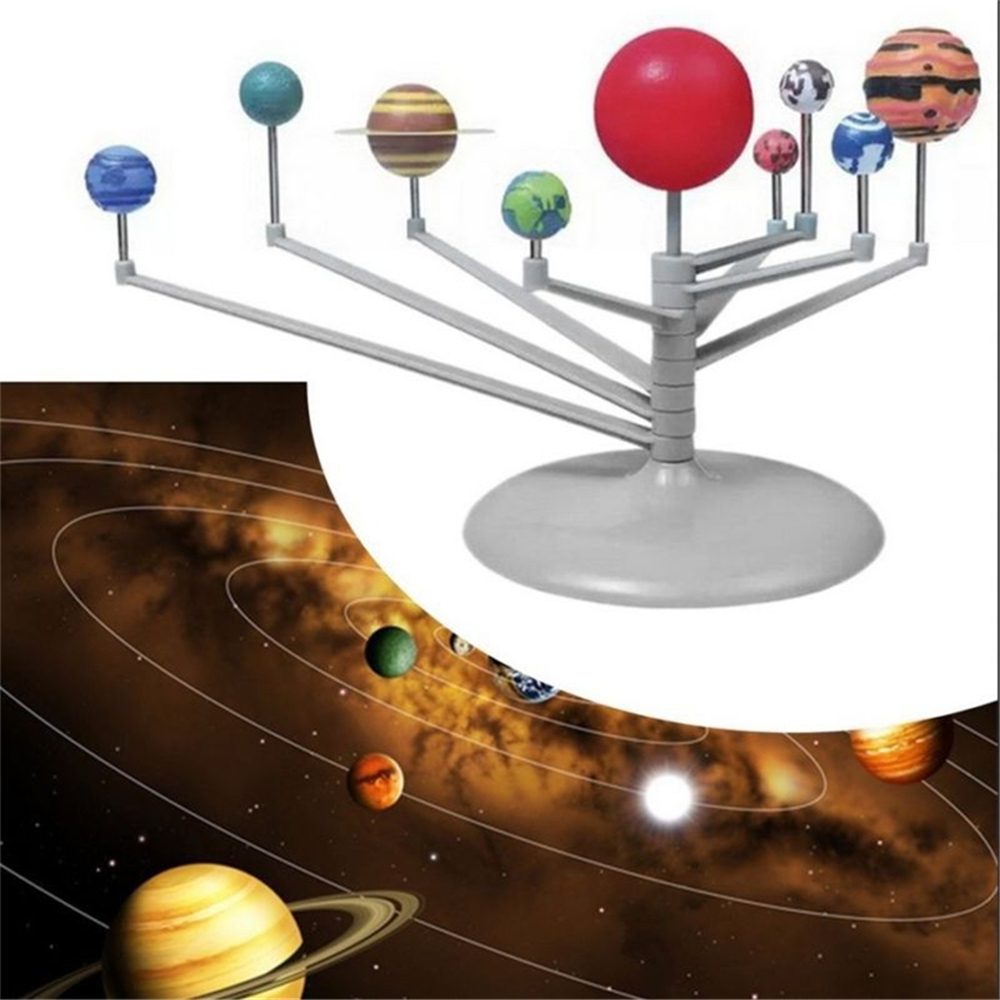 Solar System Planetarium Model Astronomy Science Project DIY Kids Gift