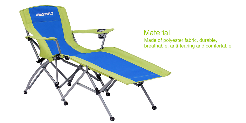Pleasing Fundango Folding Portable Chaise Lounge Chair Gmtry Best Dining Table And Chair Ideas Images Gmtryco