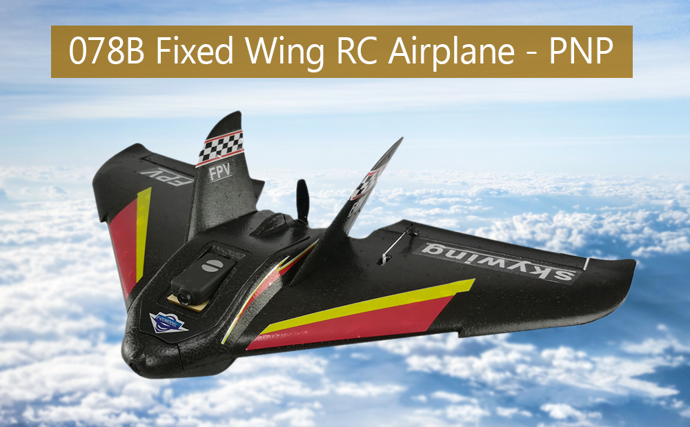 078B RC Fixed Wing Aircraft PNP 680mm Wingspan Brushless 20A ESC / 2205 2380KV Motor