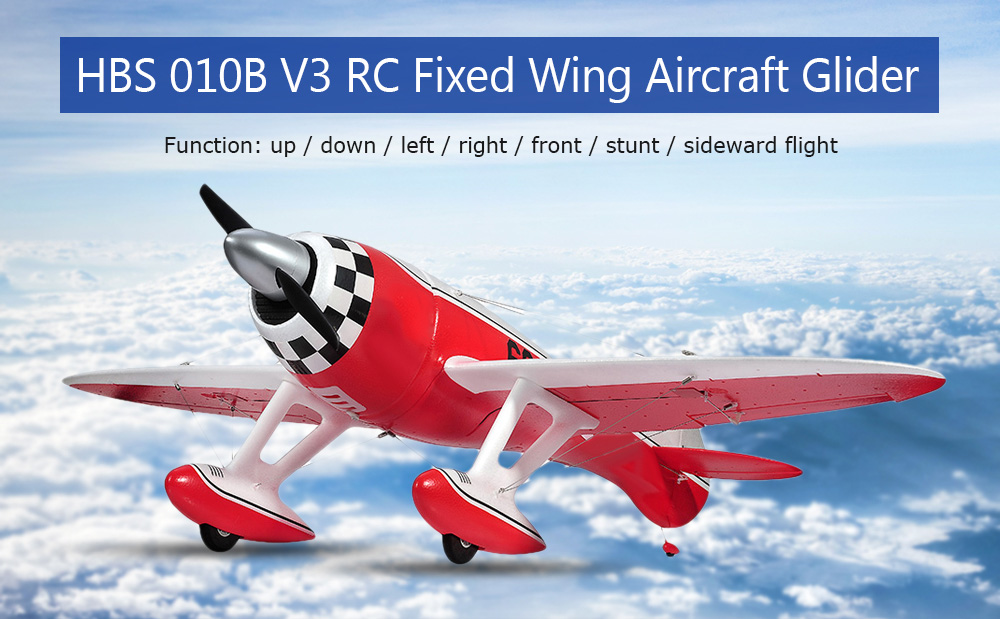 HBS 010B V3 RC Fixed Wing Aircraft Glider