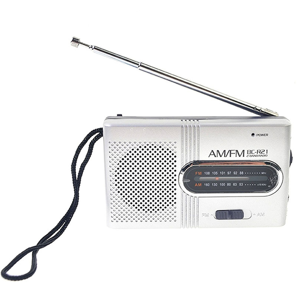 Bc R21 Mini Portable Pocket Am Fm Telescopic Antenna Battery Powered Receiver Package Size L X W H 1050 620 270 Cm 413 244 106 Inches Contents 1 Radio