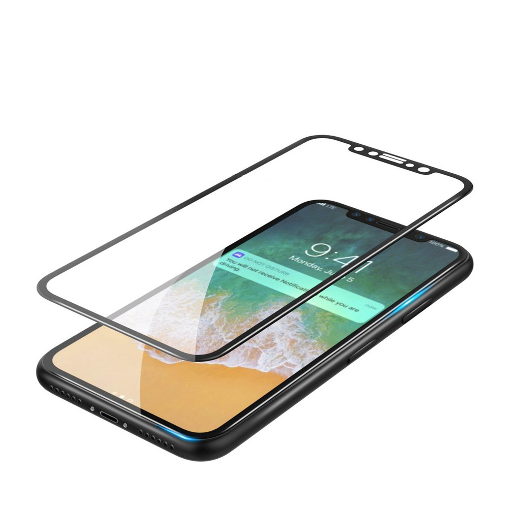 3d Round Curved Edge Tempered Glass For Iphone X Full Cover 6 6s Plus Clear 4d Premium Protective Screen Protector Film