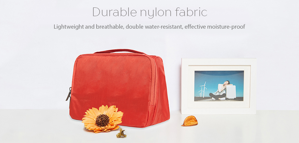 Xiaomi Portable Travel Toiletry Bag Water-resistant Large Capacity Outdoor  Storage Wash Pouch- Jacinth 49ff0fb30308c