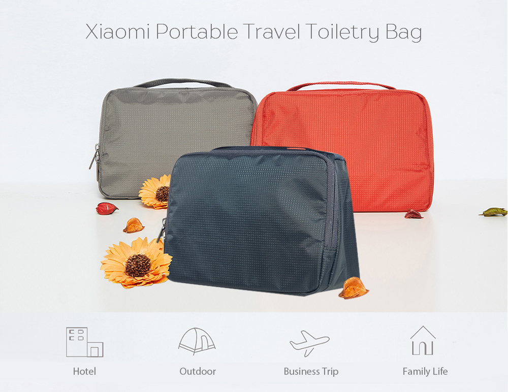 2089fe237ed3 Xiaomi Portable Travel Toiletry Bag Water-resistant Wash Pouch