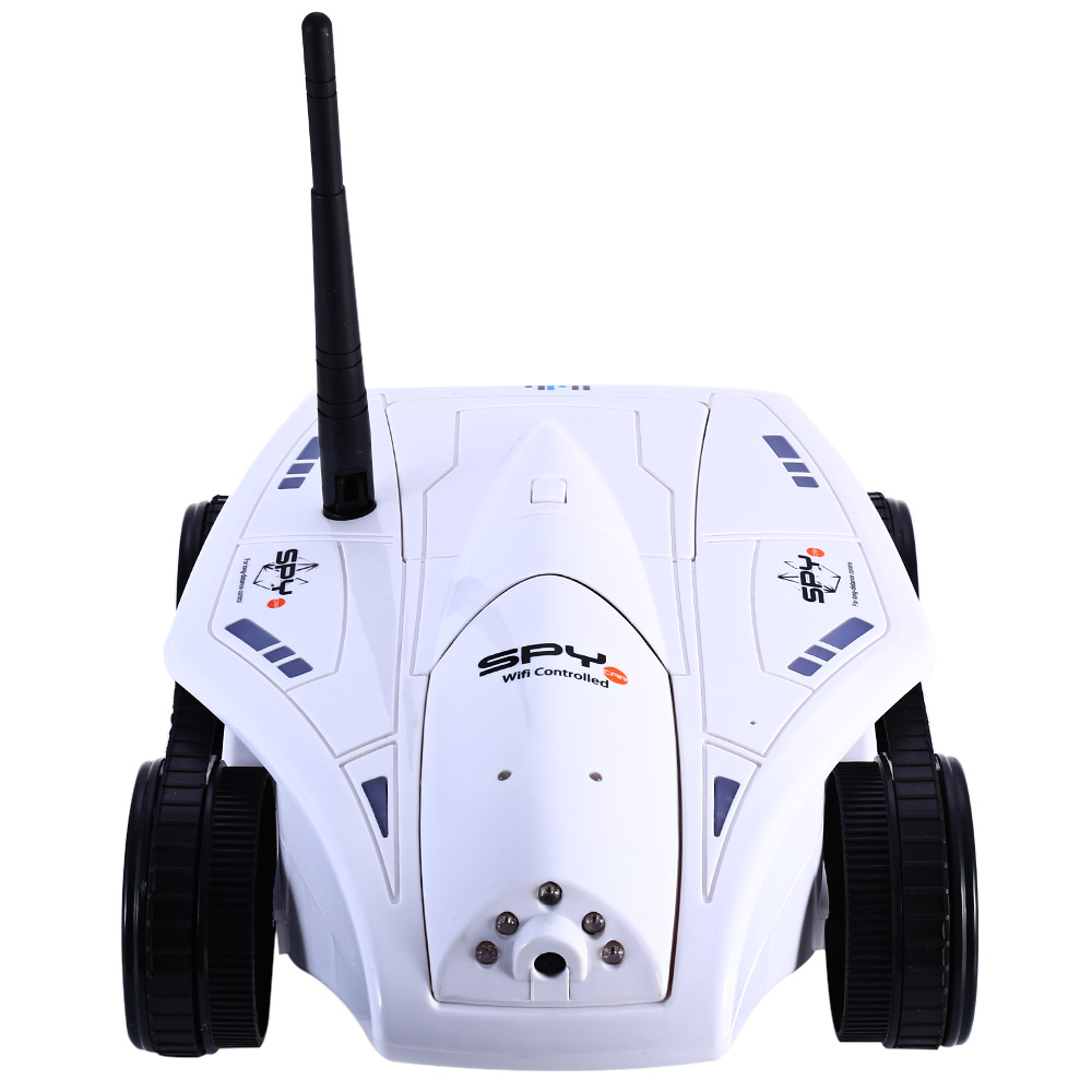 HAPPYCOW 777 - 325 RC Mini Tank Car WiFi Real-time Photo Transmission HD Camera iOS Phone or Android Toy