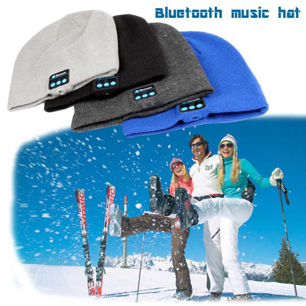 Wireless Bluetooth Headphones Music Hat Smart Caps Headset Earphone Warm Beanies Winter Hat With Speaker Mic for Sports