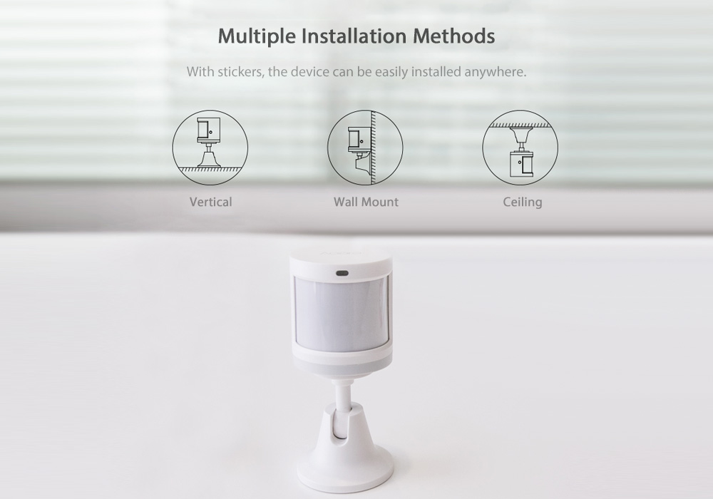 Original Xiaomi Smart Home Aqara Human Motion Sensor Security Device