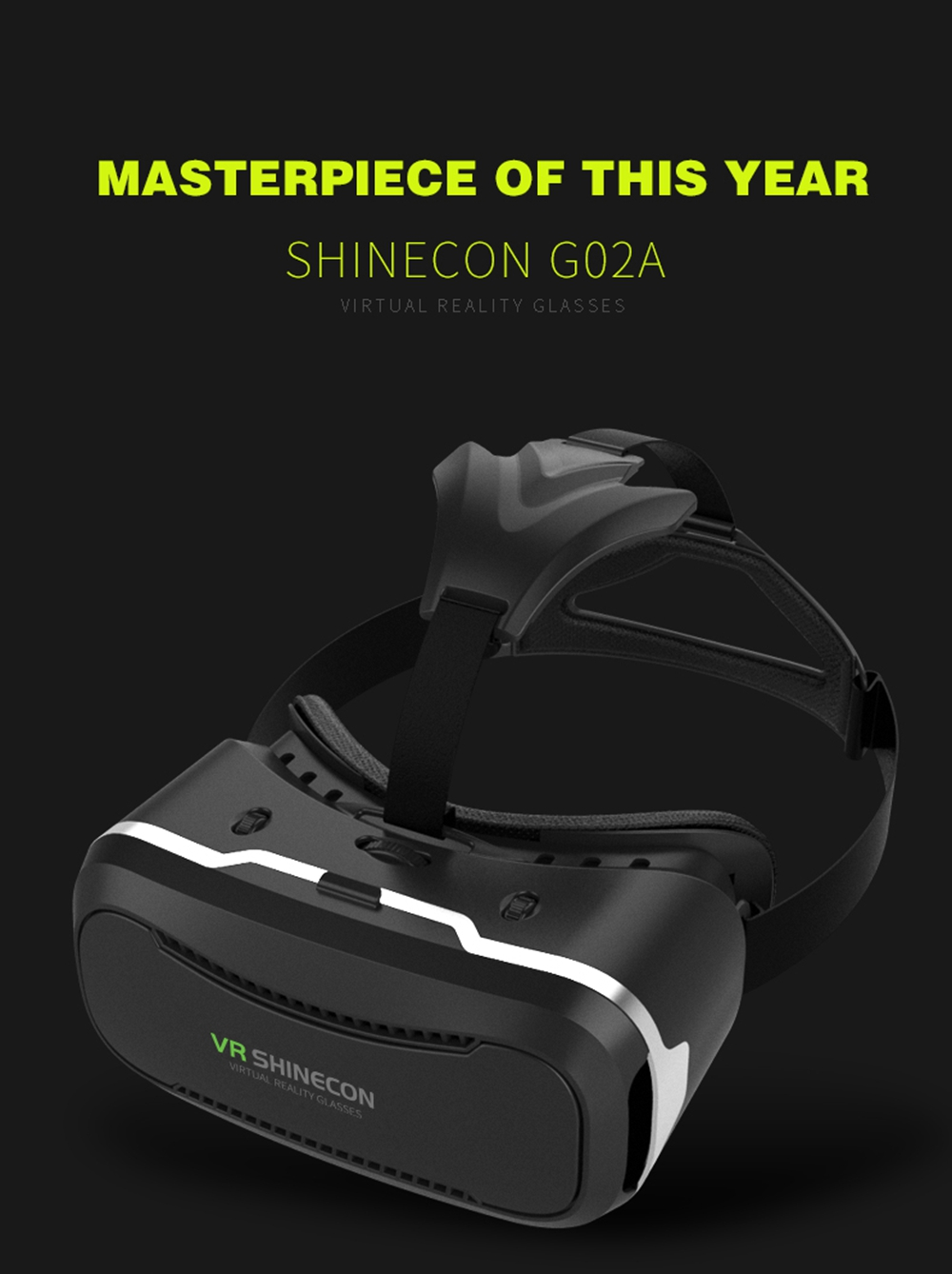 VR SHINECON VR Glasses 3D Virtual Reality Helmets