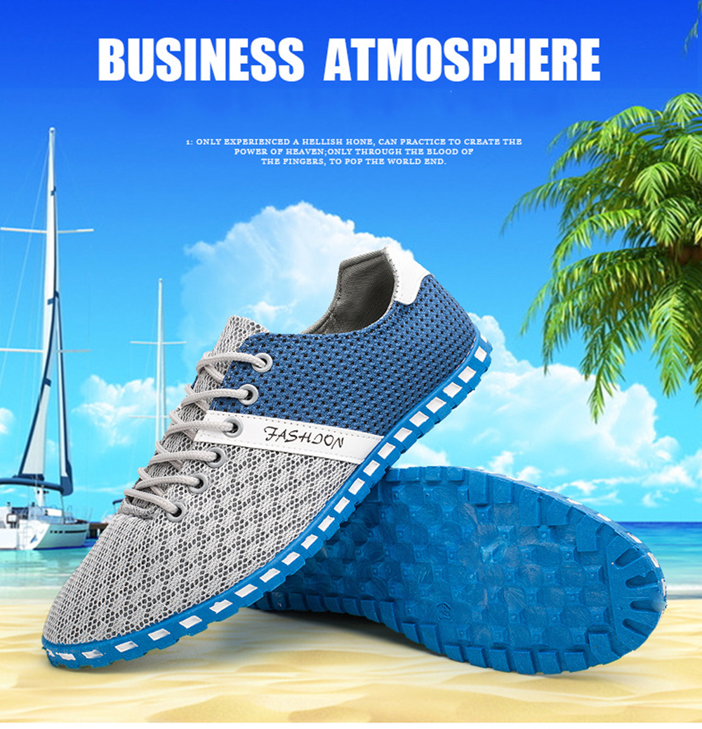 Lightweight Mesh Breathable Sneakers Causal Sports Shoes for Men