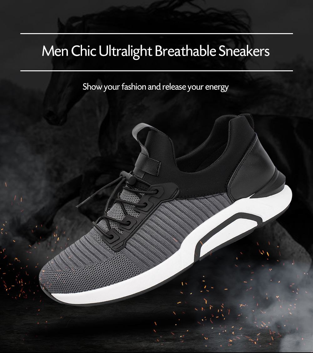 Chic Soft Ultralight Breathable Casual Sneakers for Men