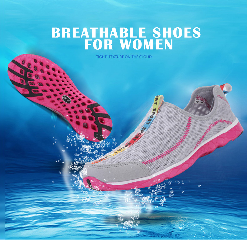 Summer Outdoor Casual Beach Quick-dry Water Shoes for Women