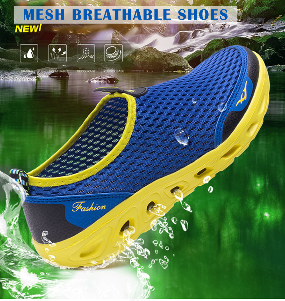 Men Casual Sports  Beach Surfing Mesh Water Shoes