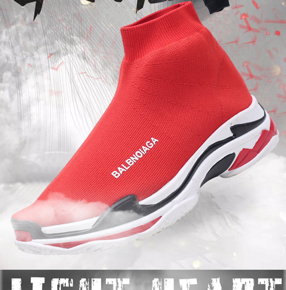 Flying Breathable Casual Couple Shoes