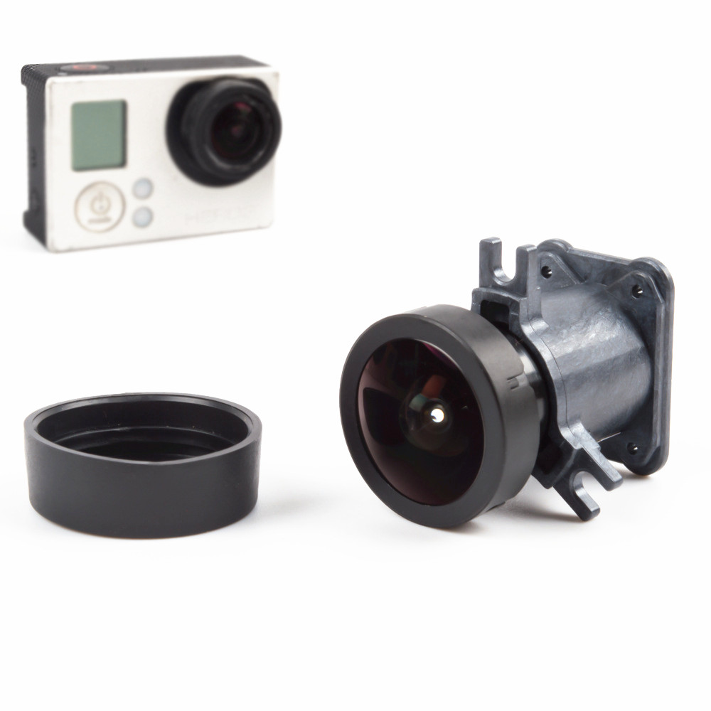 Original 150 Degrees Wide Angle Lens Replacement For Gopro HERO 3 Sport Camera