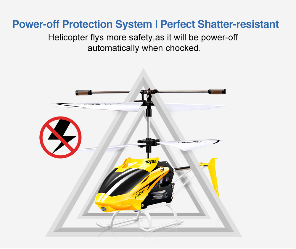 Syma W25 2ch Indoor Small Rc Electric Aluminium Alloy Remote Control Helicopter Circuit For Kids Red