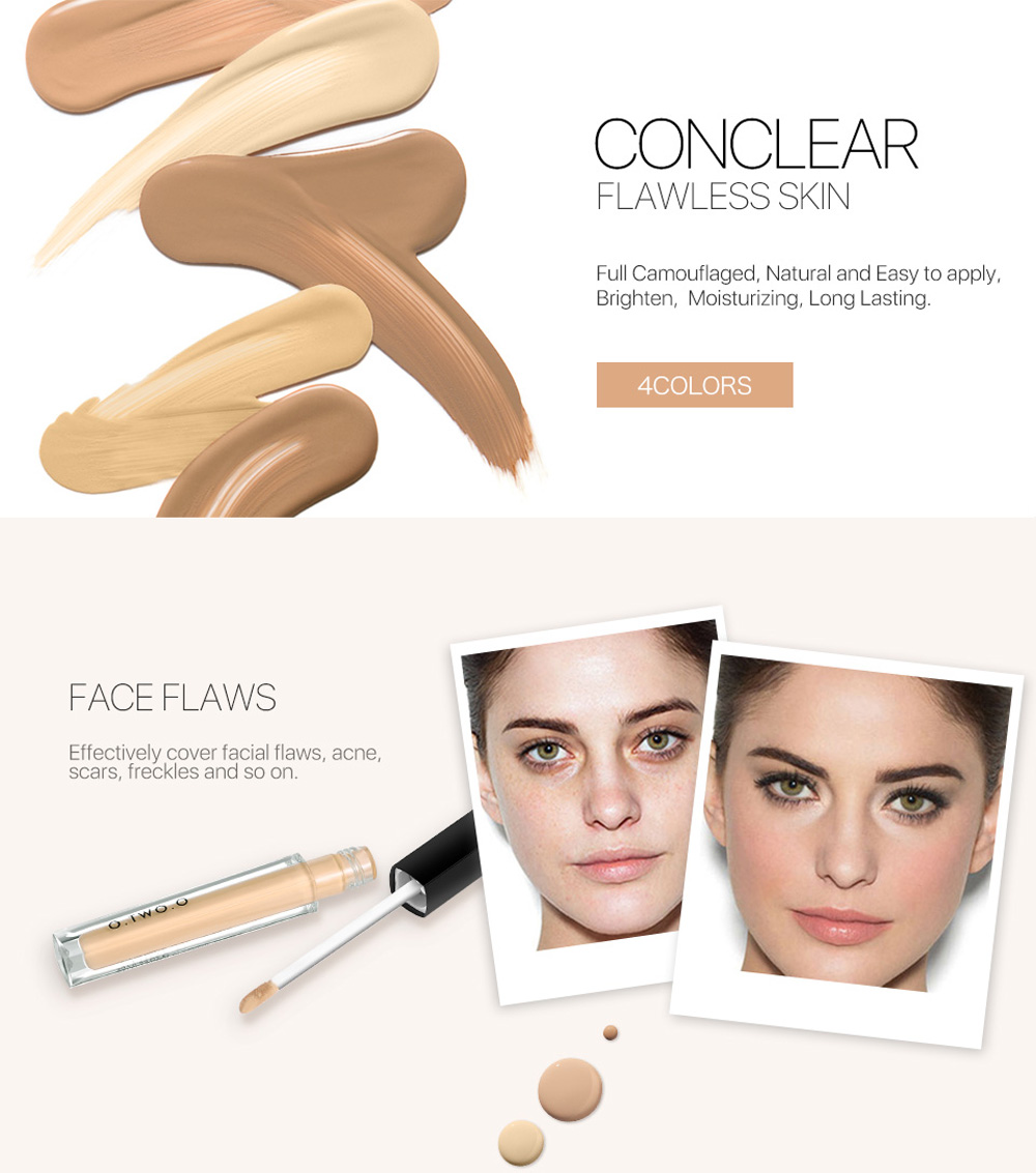OTWOO Face Foundation Liquid Concealer Moisturizing BB Cream