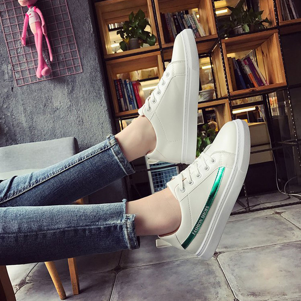Lace Literary Leisure Street Shoot Flat Shoes
