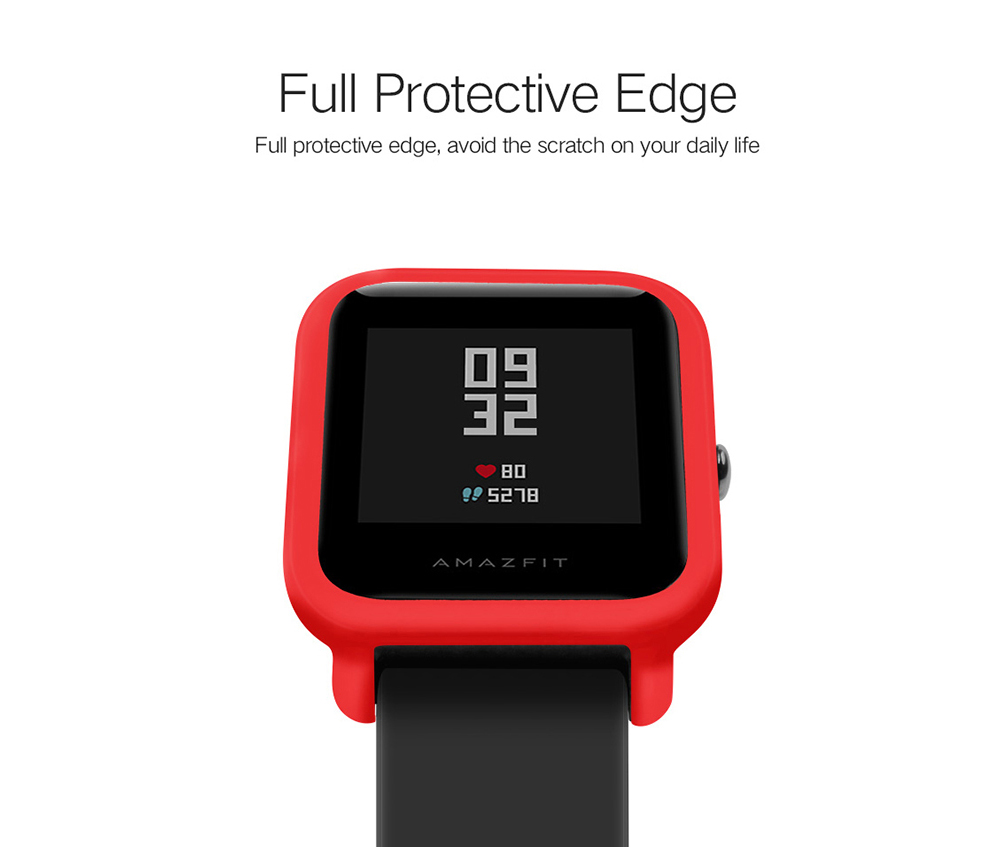 Tamister Watch Cover For Xiaomi Huami Amazfit Youth Ed 299 Free Pace 2 Stratos Bumper Case Shell Frame Protector Full Coverage Ultra Thin Pc Screen
