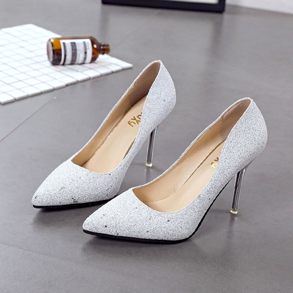 Single New Casual High-heeled Shoes