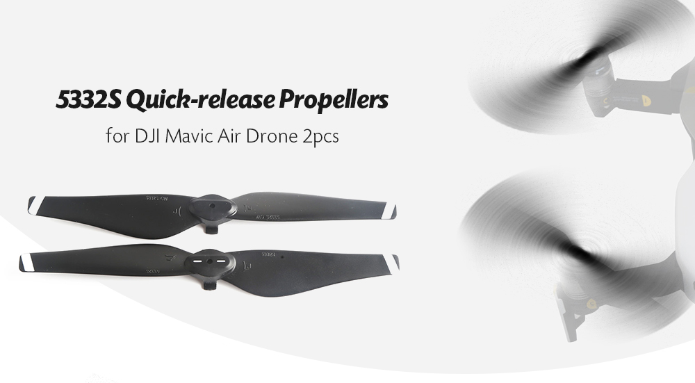 5332S Quick-release Propellers for DJI Mavic Air Drone 2pcs