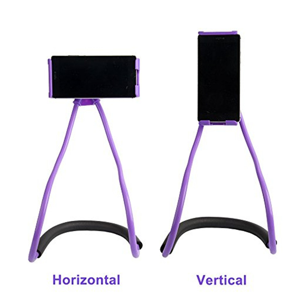 Flexible Lazy Bracket Mobile Phone Neck Hanging Stand Holder for Xiaomi