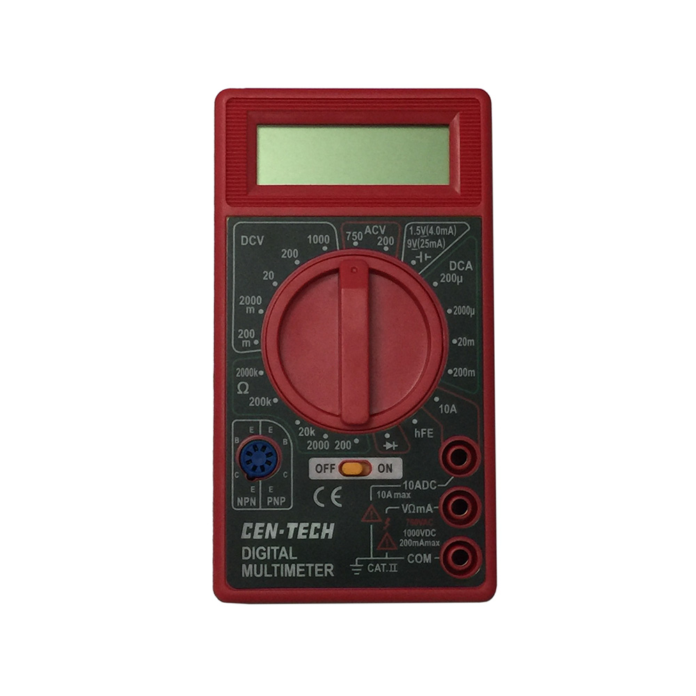 Multimeter For Home : Dt b lcd handheld digital multimeter using for home