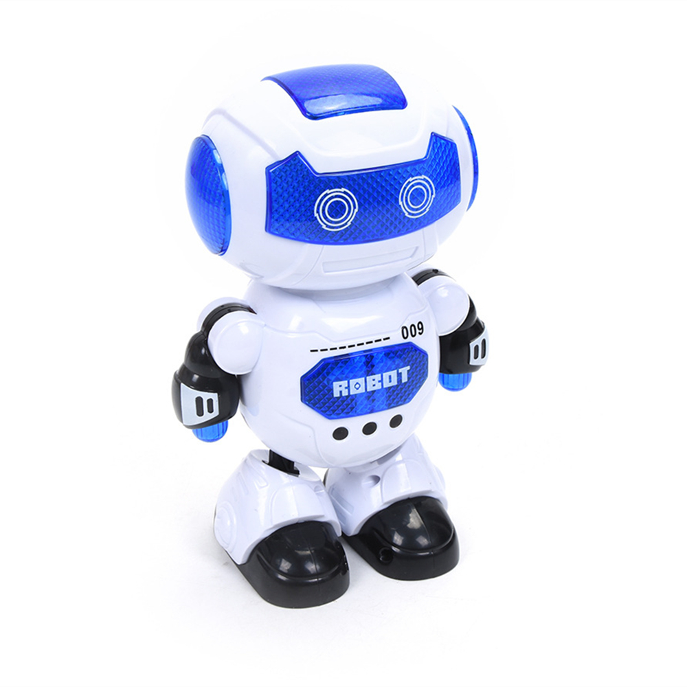 Electronic Walking Dancing Robot Toys with Music Lightening for Kids Boys Girls Toddlers 1