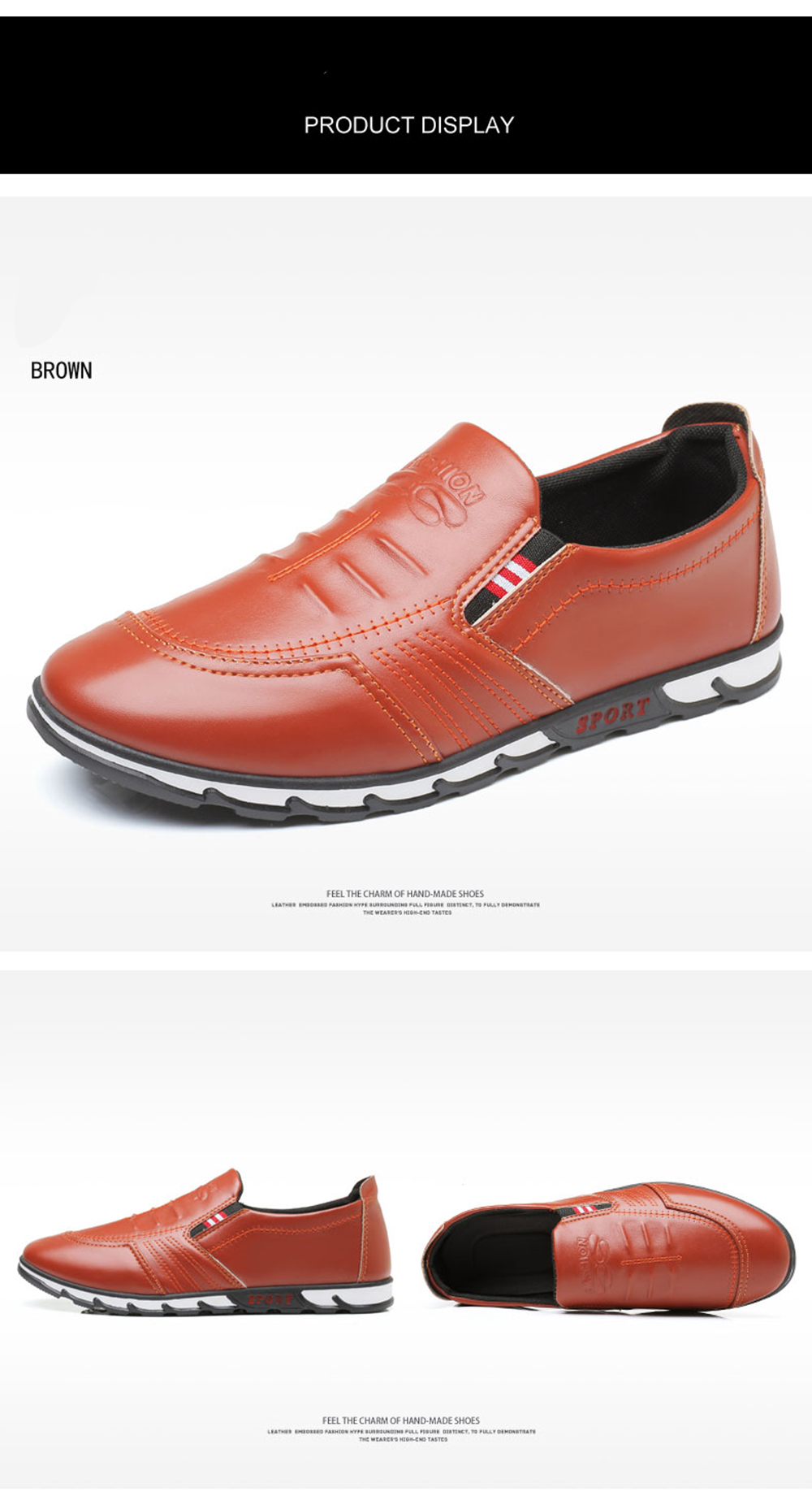 Simple Style Fashion  Breathable Formal Shoes For Men