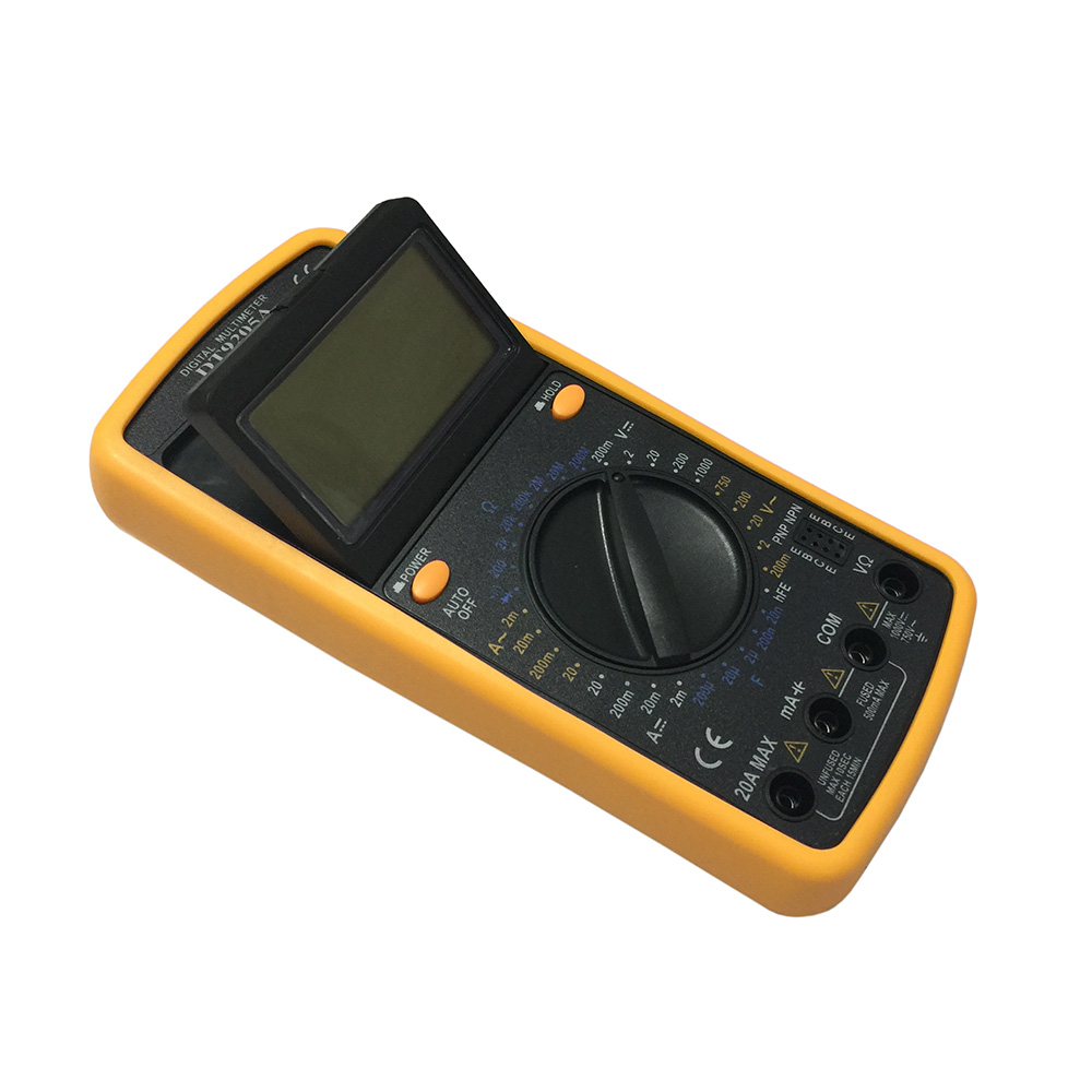 DT9205A-1 LCD Handheld Digital Multimeter Using for Home and Car
