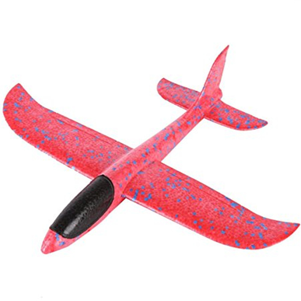 Foam Throwing Glider Inertia Aircraft Hand Launch Airplane Model Outdoor Sports Flying Toy