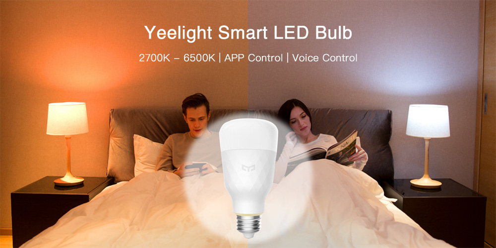 Yeelight YLDP05YL Smart LED Bulb Dimmable AC 100 Review And Coupon Code
