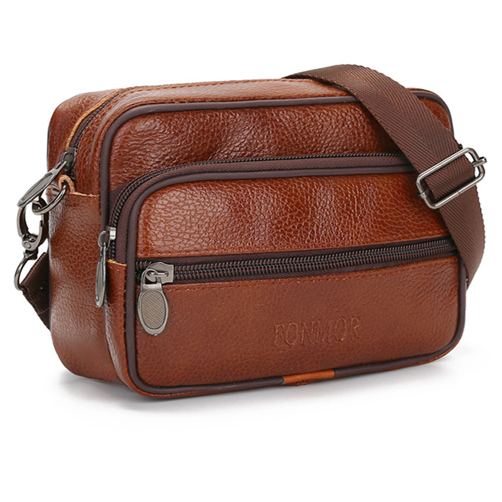 American Football Styling Bag Small Chest Bag Mens Portable Sports Messenger Bag Creative Football 3D Stereo Shoulder Bag,Brown