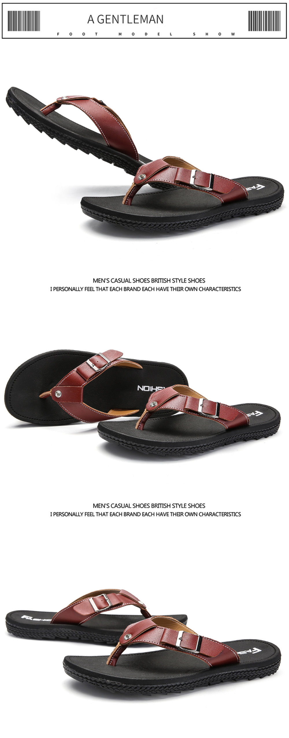 Outdoor Casual Flip Flops Beach Men Shoes
