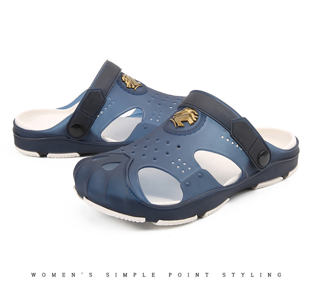 Beach Water Upstream Summer Male Beach Flat Heel Shoes