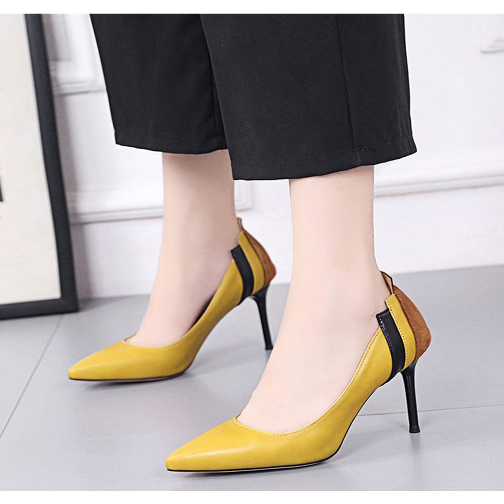 Spring and Summer New Pointed Classic Stilettos