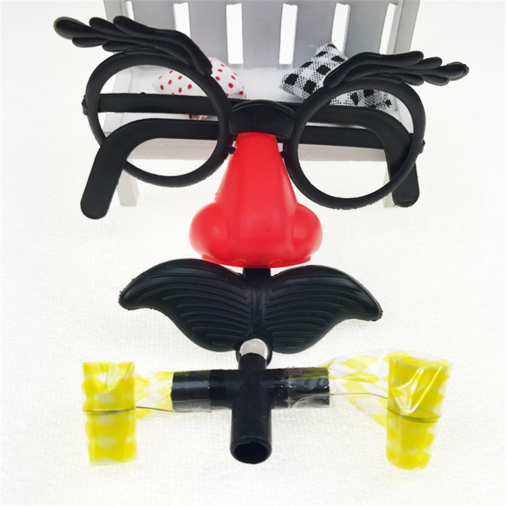 New Large Beard Glasses Funny Toys