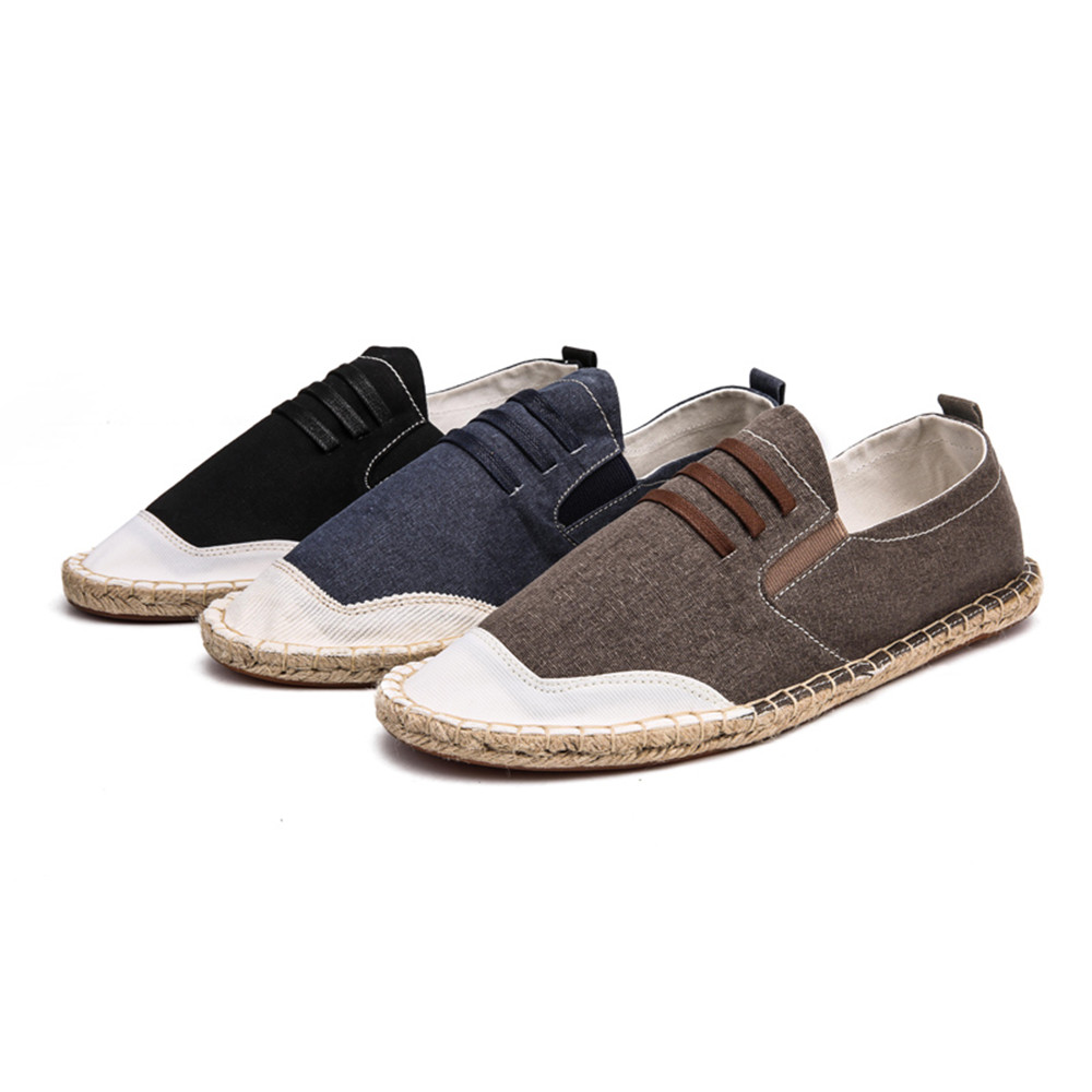 ZEACAVA Canvas Daily Flats  Loafers