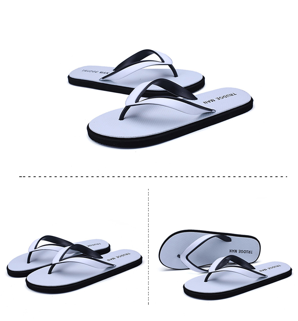 Comfortable Beach Flip Flops Slippers for Men