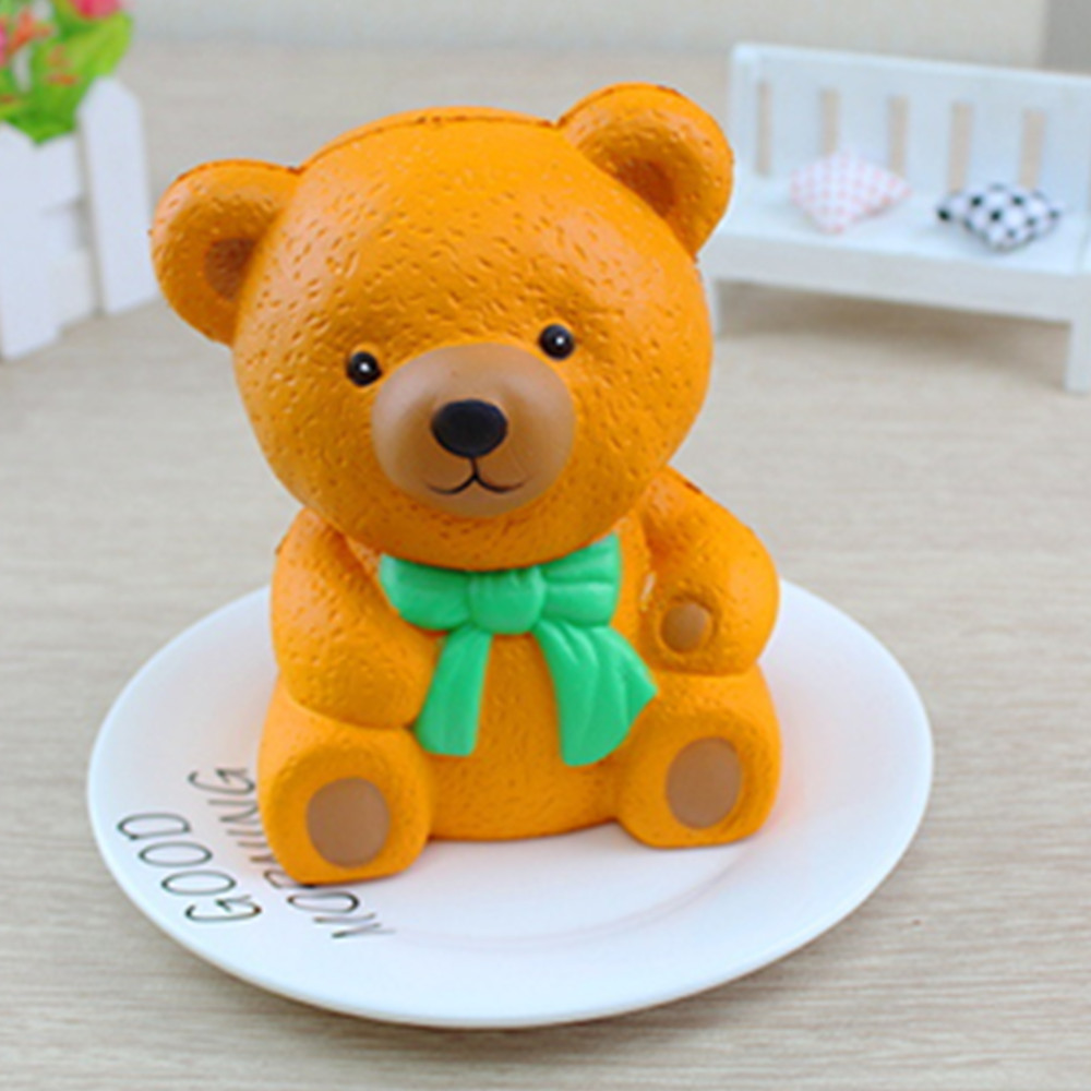 Jumbo Squishy Slow Rising Kawaii Cartoon Bear Toys
