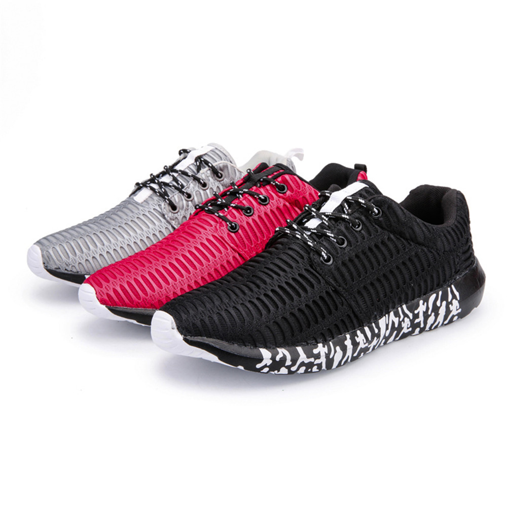 ZEACAVA Men's New Running  Breathable Sneakers Outdoor Sport Shoes