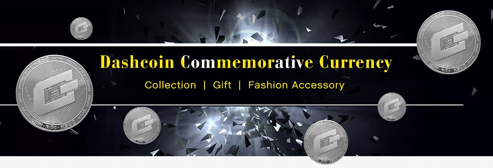 Dashcoin Commemorative Currency Collections Gift
