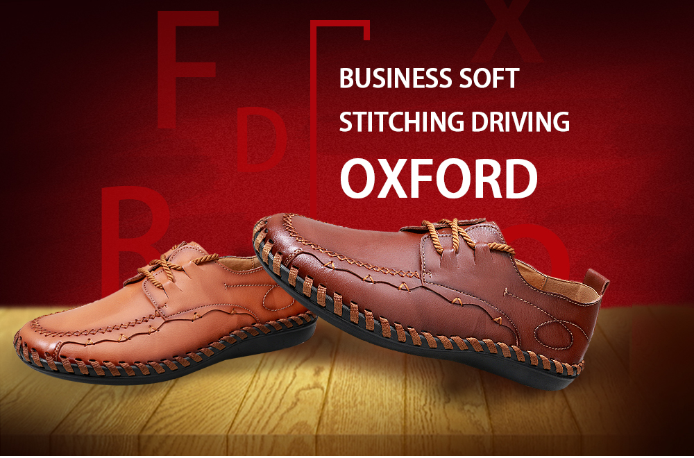 Business Soft Stitching Driving Oxford Shoes for Men