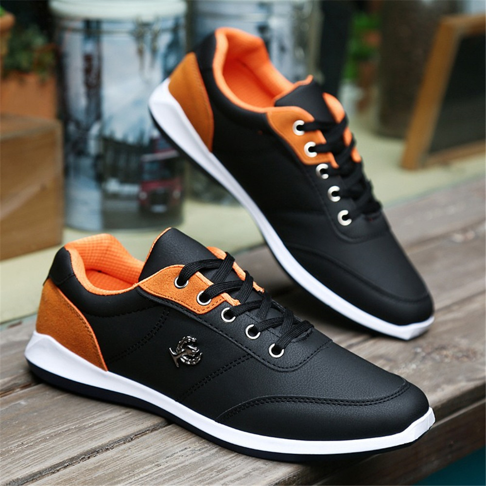 ZEACAVA Autumn New Fashion  Men's Shoes British Tide Male Lace Casual Shoes