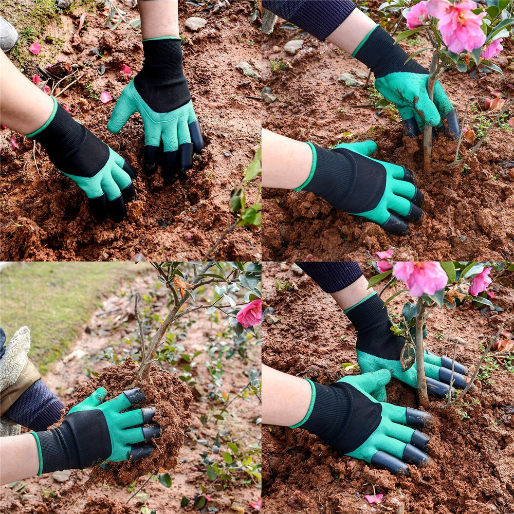 Garden Gloves Gloves With Claws for Digging and Planting - $3.63 ...