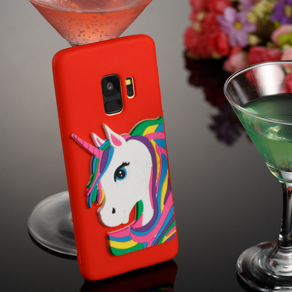 3D Unicorn Pattern TPU Case for Samsung Galaxy S9 - 0.00Kč 6cc73a76163