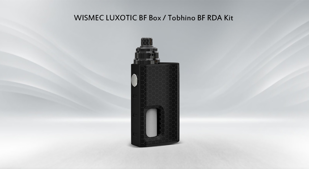WISMEC LUXOTIC BF Box / Tobhino BF RDA Kit with 0.1 - 3 ohm / 7.5ml E-juice Bottle for E Cigarette