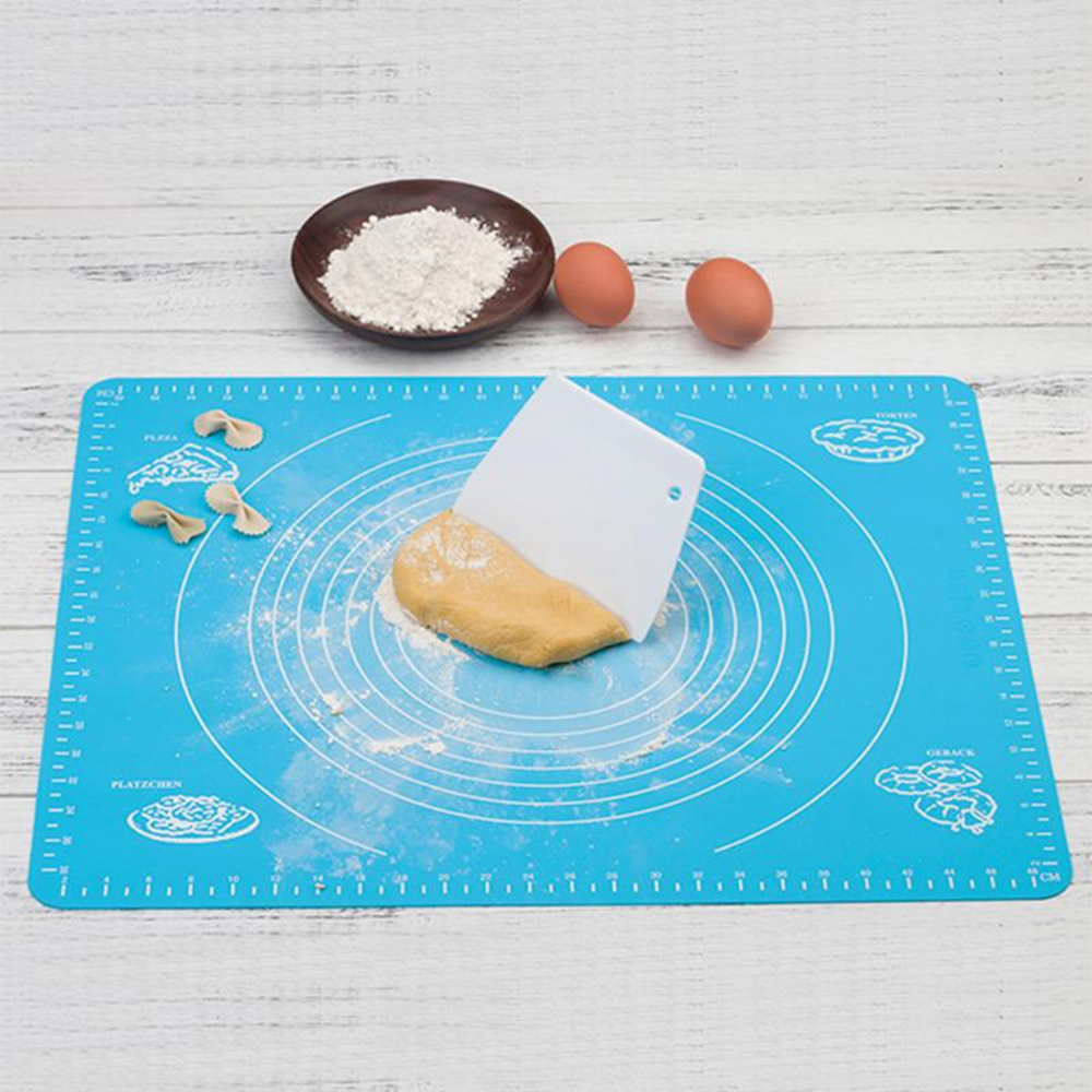 Silicone Baking Mat for Pastry Rolling Measurements Reusable Non ...