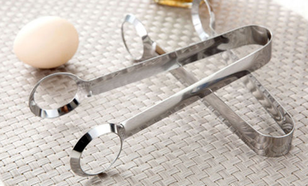 Outdoor Picnic Tools Many Creative Stainless Steel Egg Clip Kitchen Equipmen