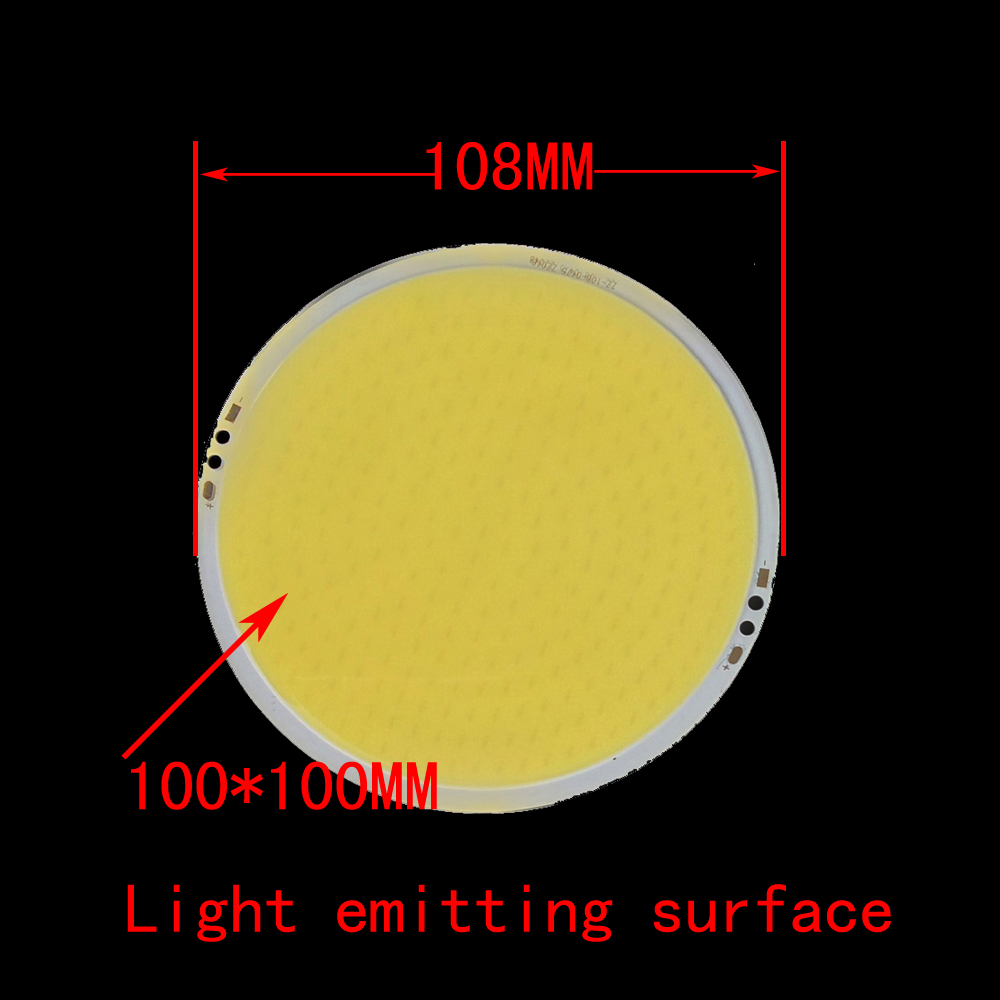 ZDM DIY 30W 3000LM LED Round Integrated Light Source Board (DC12-14V 2-2.5A )- Warm White