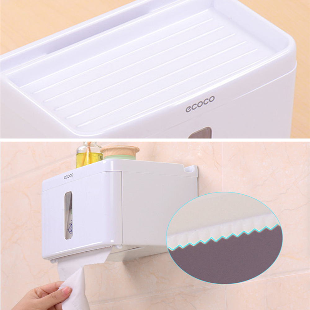 Multifunctional Waterproof Toilet Paper Tissue Box